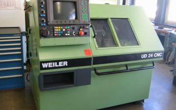 Weitere Investition in ein Weiler-CNC Bearbeitungszentrum für die Tellerfedernproduktion