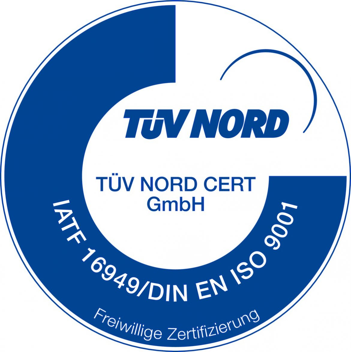 Certificate ISO/TS 16949:2009 TÜV Nord