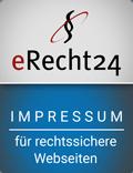eRecht24 – Impressum – für rechtssichere Webseiten